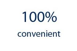 100% Удобства