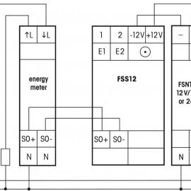 Схема поключения FSS12